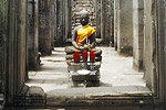 The more than 100 temples at Angkor were built during the height of the Khmer civilisation.