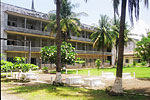 The infamous Tuol Sleng prison - a former high school in the capital - where the Khmer Rouge carried out their attrocities on the Cambodian people.