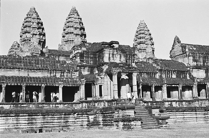 Angkor Wat was built during the height of the Khmer civilisation and is now one of the world's greatest architectural wonders.