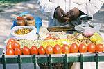 A street food vendor.