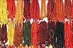 Traditional, handmade komboloi, or worry beads, are a constant for many Greek males. The komboloi have no religious significance, but are used to reduce tension and stress.