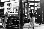The Cartier store on the Champs-Elysees undergoing renovation. The luxury jeweler has long been associated with leopards.