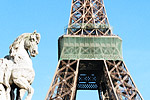 The Eiffel Tower, the symbol of the city, is ironically one of the hardest buildings to photograph.