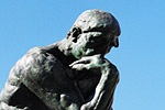 'The Thinker', is arguably the sculptor Auguste Rodin's best known work and one of the most famous sculptures in the world.