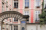 The fashionable Marais quarter attracts plenty of style and glamor.