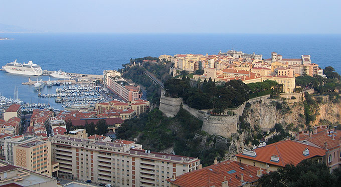 The 13th-century royal palace towers over the principality and its yacht-filled harbour.