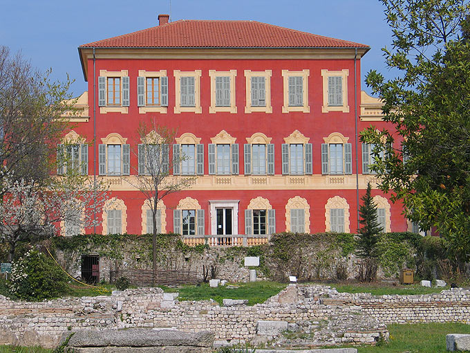 The Matisse Museum, located on Cimiez hill, is housed in a 17th-century Genoese villa.