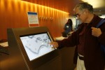 3-D Digital Wayfinding is very user-friendly for visitors.