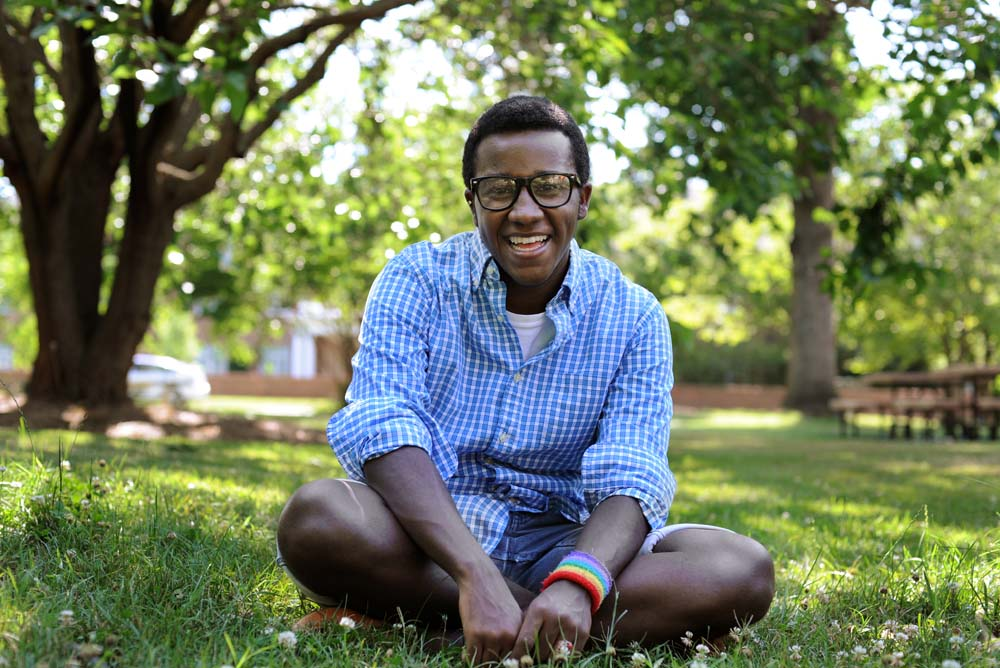 Raafe Purnsley is an active member of SPECTRUM, Elon University's LGBT awareness organization.