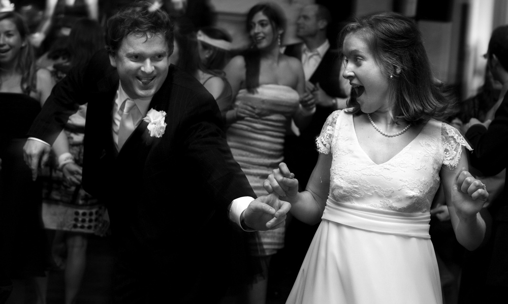 Catherine Alexander and Fletcher Wilson, married at White Memorial Presbyterian Church in Raleigh, N.C.