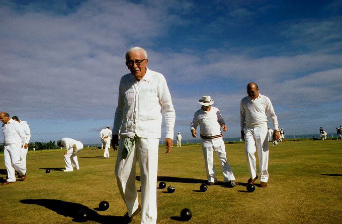 Lawn Bowls, Cape Town, South Africa, 1991