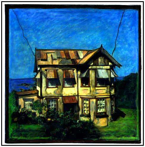 ABANDONED HOUSE, GRENADA,  WEST INDIES, 1996