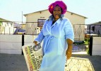 Ollin Mlotywa of Khayelitsha Township, learns of the release of Nelson Mandela. South Africa, 9th February,1991