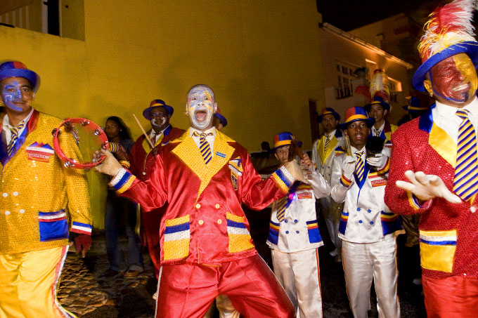 Master Tambourine Player, {quote}Jingles{quote}, Jumps Up in the Streets of Bo-Kaap, 2006
