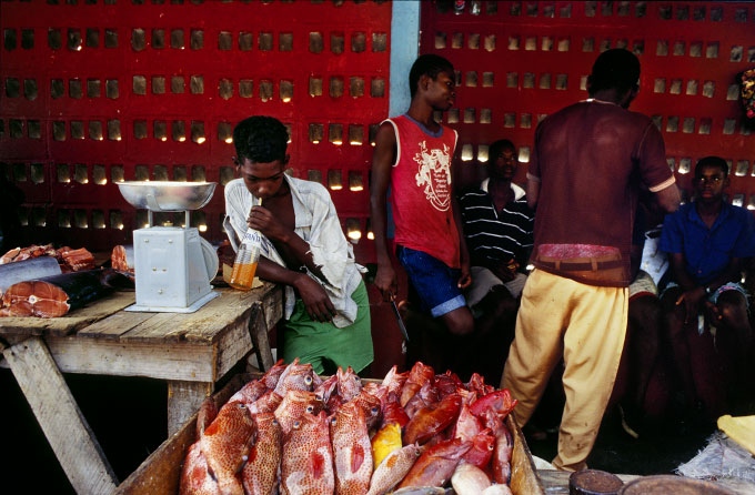 Fish Market, St. Georges, 1993