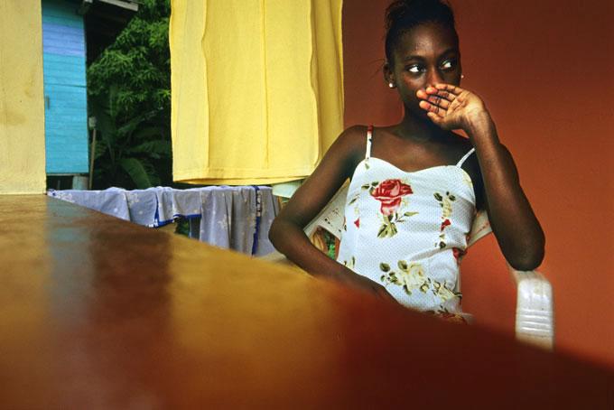 Girl in Sundress, 2003