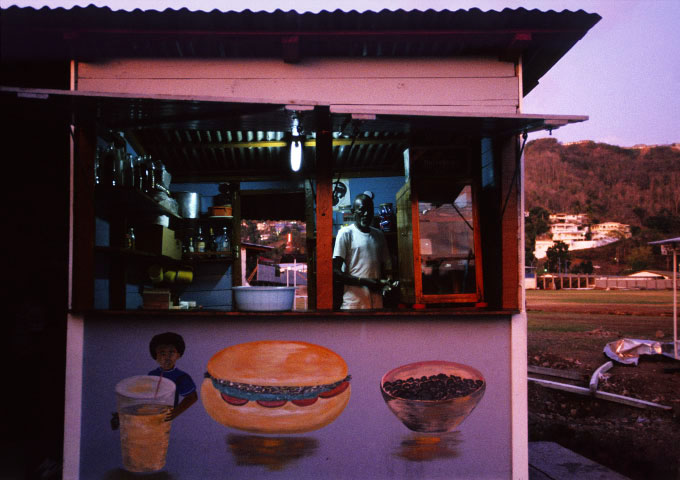 Food Stand, St. Georges, 1994