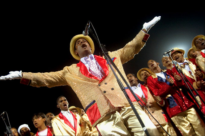 Harare Elsies River Troupe Performing in Al Jolson Style, 2006