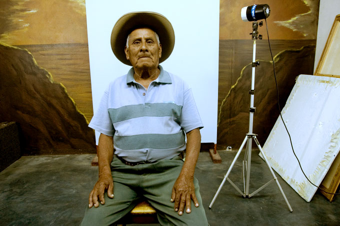 Photo Studio, Near Oaxaca, Mexico, 2006