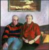 KAETHE AND STEFAN, CAMBRIDGE, MASSACHUSETTS, 1990