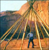 TEEPEE,MONUMENT VALLEY, UTAH, 2000