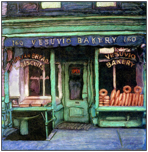VESUVIO BAKERYSOHO, NEW YORK, 2001