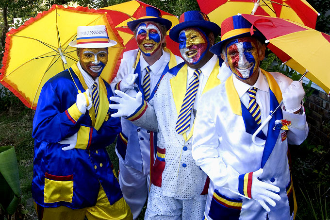 Diverse Minstrel Group Promoting Carnival Inclusiveness, 2006