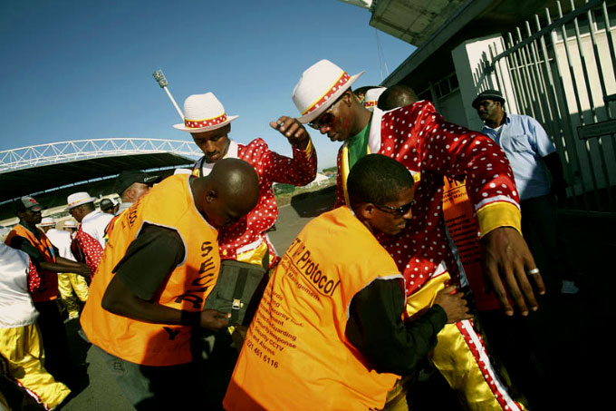 Security Check, Athlone Stadium, January, 2007