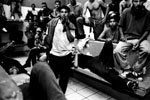 Central American detainees in Tapachula, Mexico.
