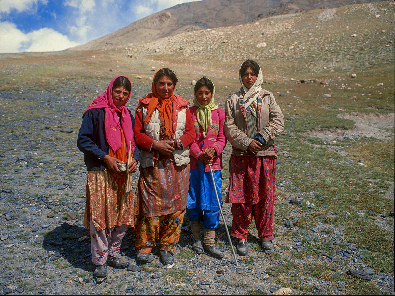 Shimshali Girls at Shuwert