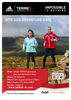 Carrock Fell summit Poster / Advertizement for fell race in Cumbria