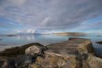 The jetty at Cidhe Eolaigearraidh