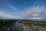 Cidhe Eolaigearraidh. Looking over An Caolas Fuidheigh to the island of Fuidheigh