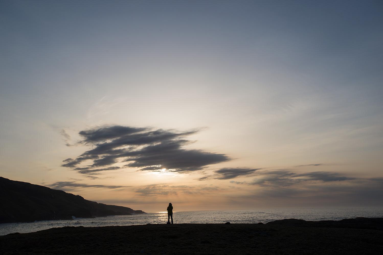 Sunset at Aird Mhurain