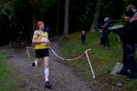 An 8km / 5 mile fell race in Whinlatter Forest Park above Braithwaite, Keswick, Cumbria. Ricky Lightfoot winning the mens' race.