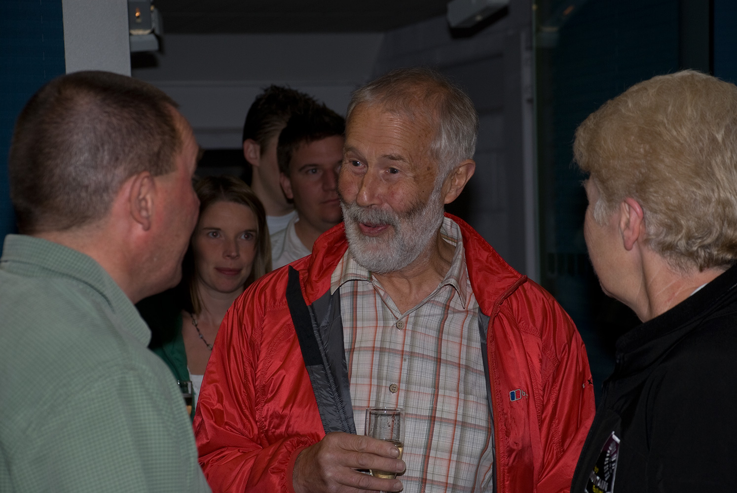 Chris Bonington is arguably the face of British mountaineering. At the Keswick Mountain Festival, Cumbria, England, in 2008