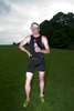 In Bitts Park after winning the 2008 Keswick Mountain Festival triathlon in 2hrs 0mins 46secs.