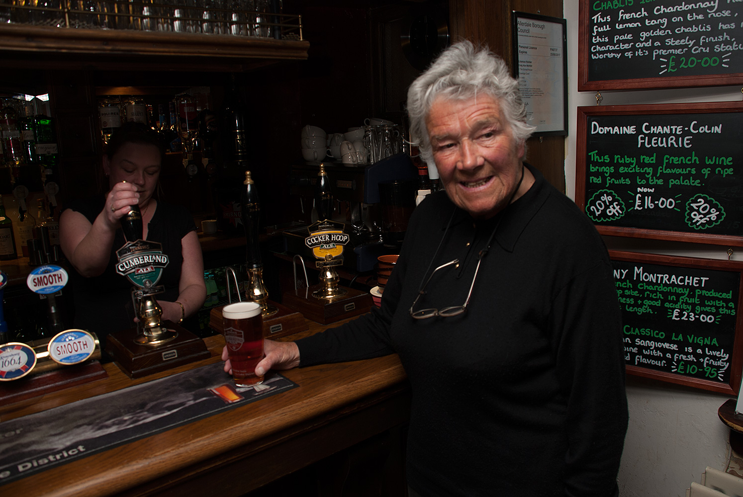 In The George, Keswick, Cumbria, prior to speaking at the Keswick Mountain Festival in 2009. Dervla Murphy is an Irish touring cyclist and author of adventure travel books for over 40 years. Murphy is best known for her 1965 book Full Tilt: Ireland to India With a Bicycle.