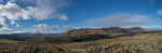 This sweeping panorama is a stitch of five images, with Calebreck on the far right, Carrock Fell, Bowscale Fell, Blencathra in the centre and the Dodds on the rightNikon D610, 17-35mm
