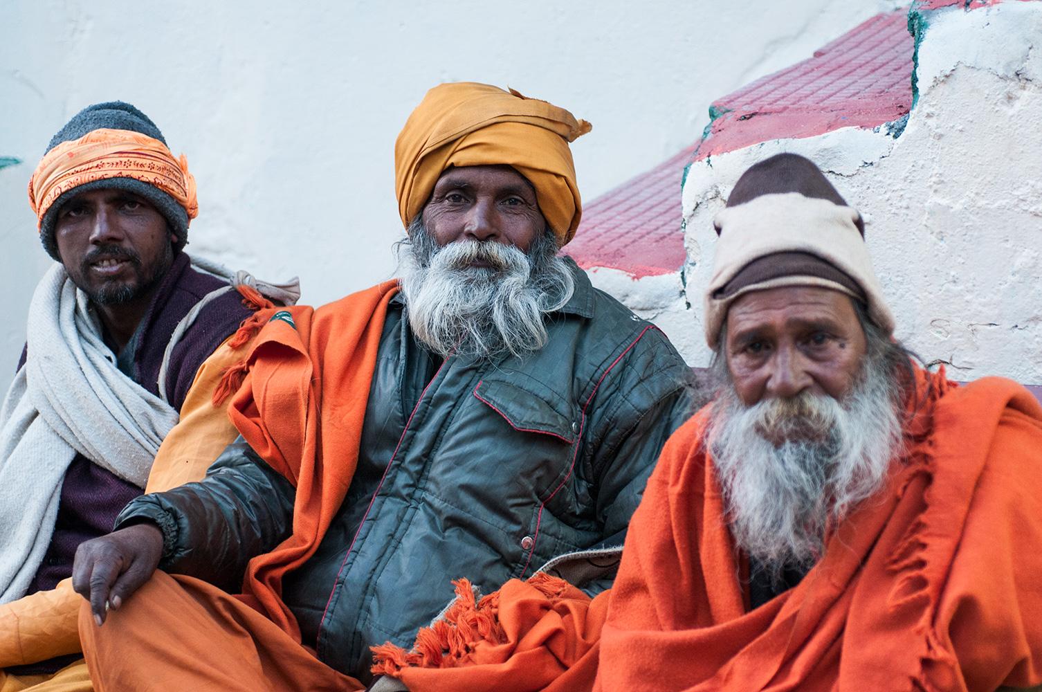 Sadhus at Rishikesh, Uttarakhand