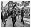 The openig parade through town