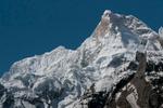 A telephoto of the summit from Goro on the Baltoro glacierNikon D300, 180mm