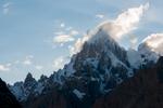 From the Baltoro glacier below Hobutse (Khoburtse)