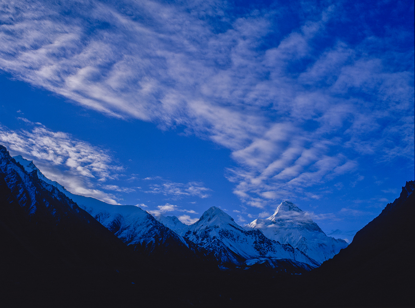 The north side of K2, Xinjiang, China