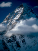 Seen here from the confluence of the Baltoro and Godwin-Austen glaciers at Concordia, it is immediately obvious why K2 has the most fearsome reputation of all the 8000m peaks!Nikon F5, 180mm, Fuji Velvia 100