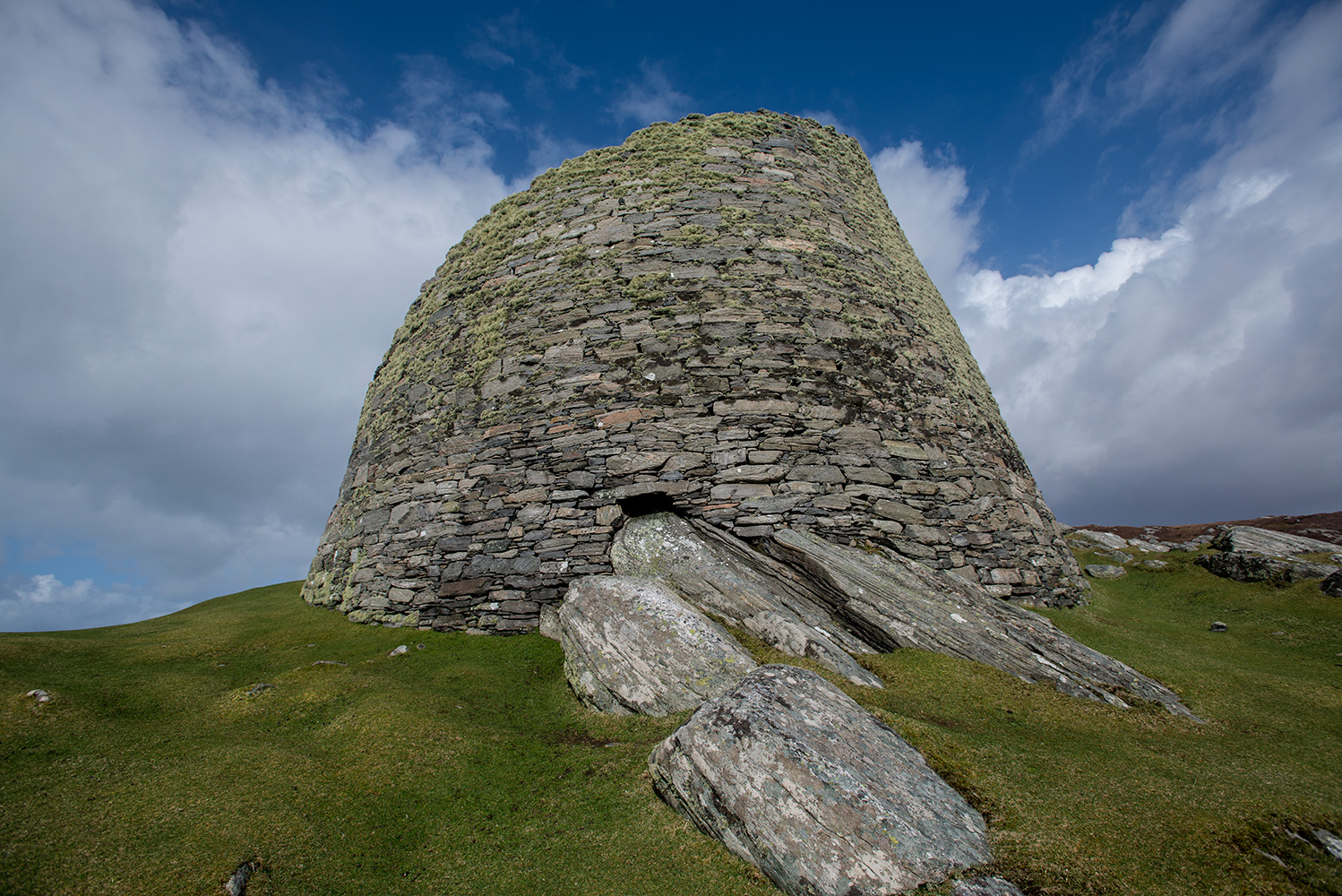 Fantastically well preserved Broch, dating from the first century AD. The walls are still nine metres high.Nikon D600, 17-35mm