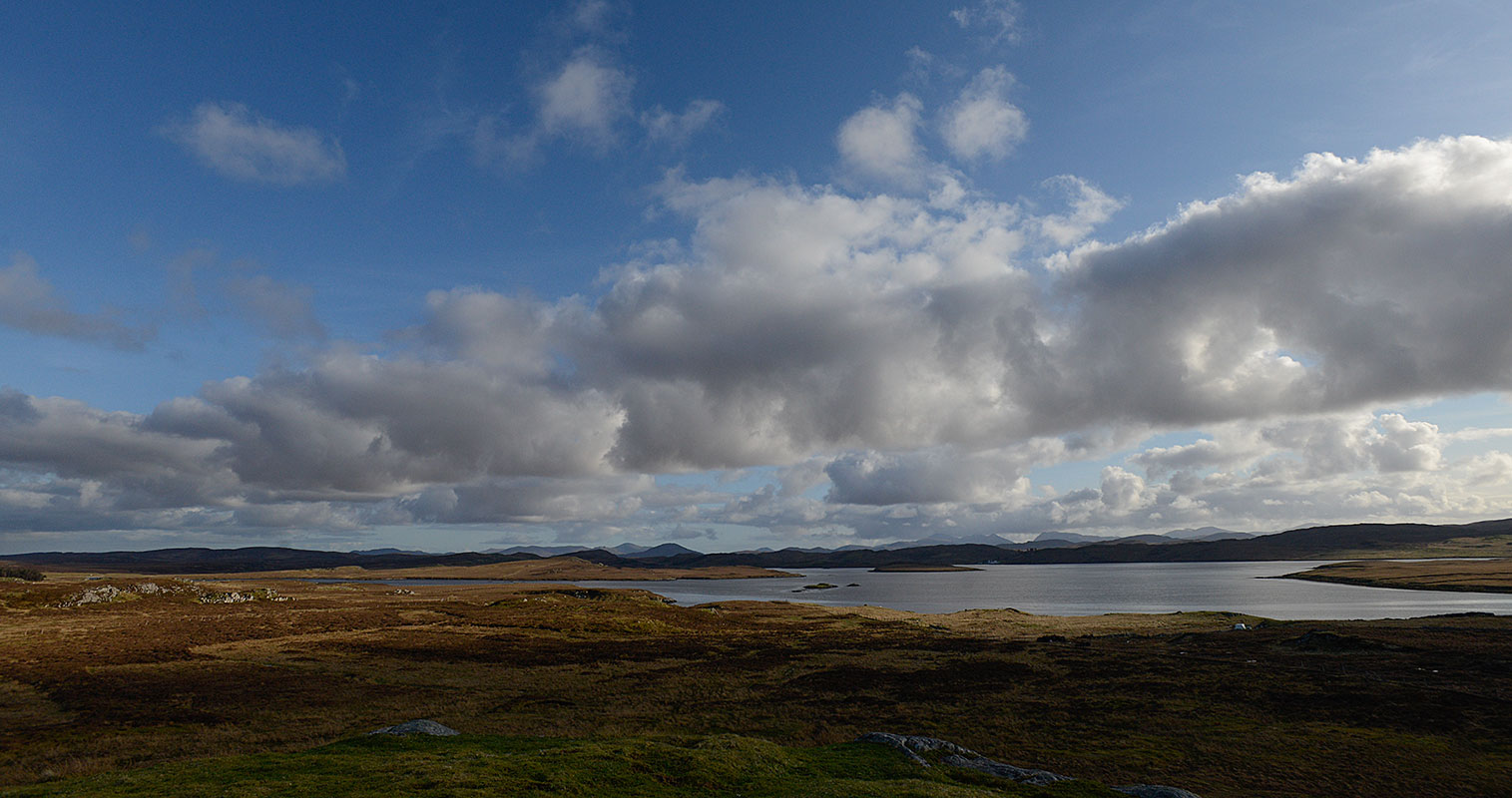 A few south from the standing stones at Calanais 3 or Cnoc Fhillibhir Bheag, Isle of LewisScotlandNikon D600, 17-35mm