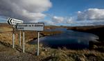 The Bernera road turns off the B8011 hereNikon D600, 17-35mm