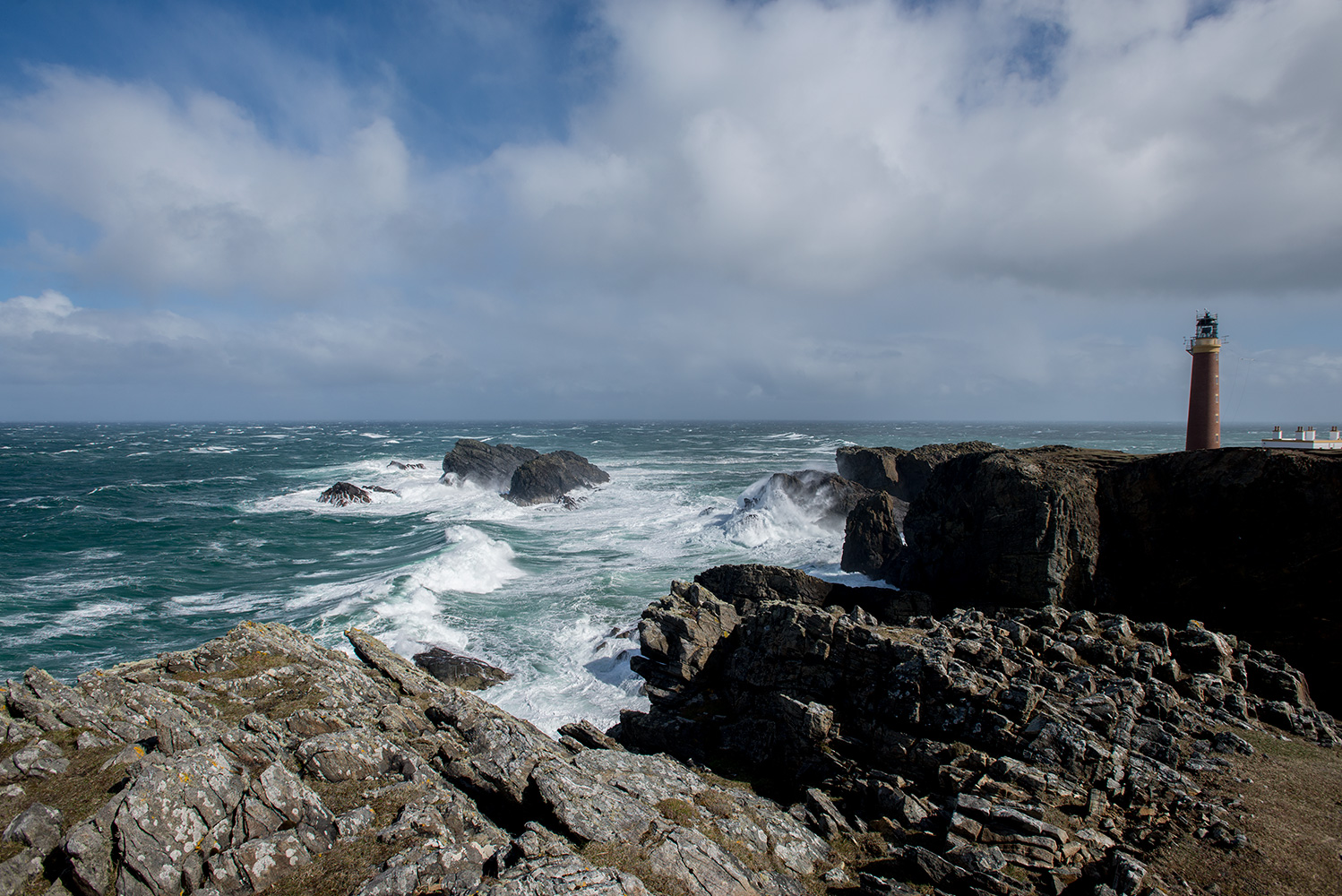The lighthouse at the northern tip of the Isle of Lewis. Windiest place in the UK!Nikon D610, 17-35mm