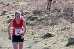 Natalie Hawkrigg of Northern Fells Running Club. This is a 10.6Km race from the Strands Inn, Nether Wasdale, Cumbria. The 2016 race was held on 19th March.